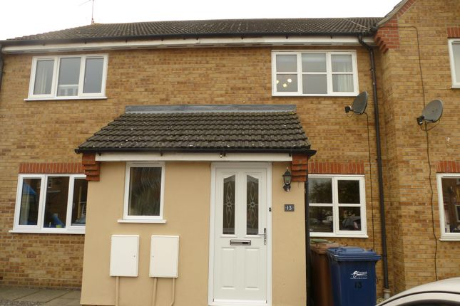 Thumbnail Terraced house to rent in Swanton Close, March