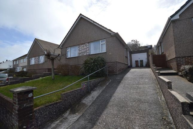 Thumbnail Detached bungalow to rent in Stanborough Road, Plymouth, Devon