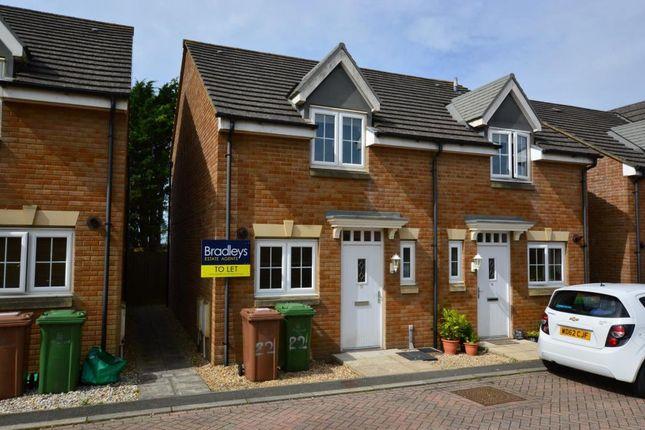 Thumbnail Semi-detached house to rent in Llantillio Drive, Beacon Park, Plymouth, Devon