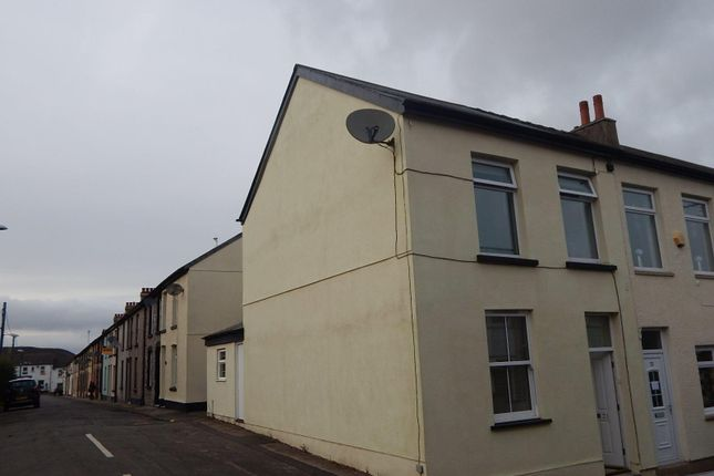 Thumbnail End terrace house to rent in Oxford Terrace, Forge Side, Pontypool