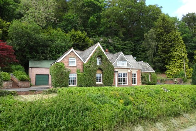 Thumbnail Detached house for sale in Abermule, Montgomery, Powys