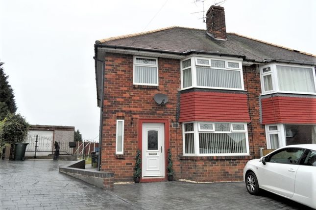 Thumbnail Semi-detached house for sale in Ridge Balk Lane, Woodlands, Doncaster