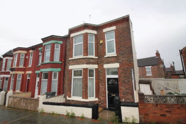 Thumbnail End terrace house to rent in Hollybank Road, Tranmere, Birkenhead