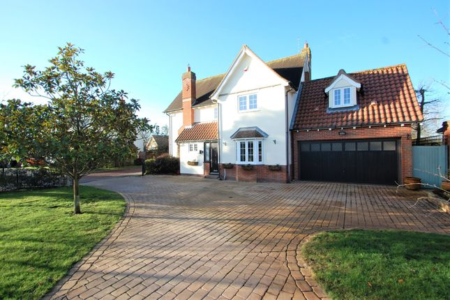 Thumbnail Detached house for sale in Brook Meadows, Tiptree, Colchester