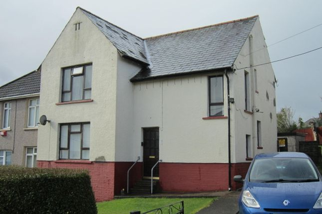 Thumbnail Semi-detached house for sale in Heolddu Avenue, Bargoed