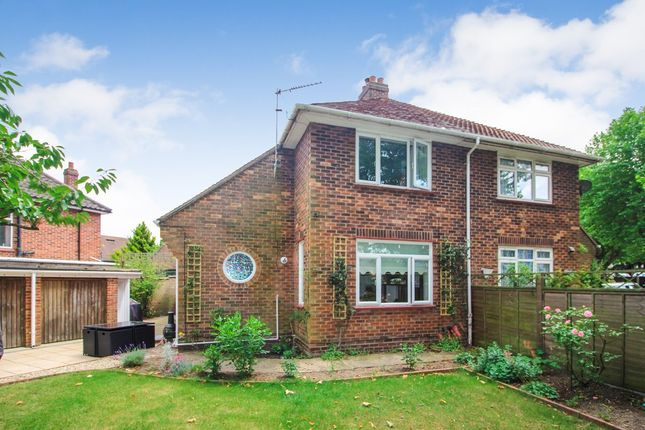 Thumbnail Semi-detached house for sale in Jessopp Road, Norwich