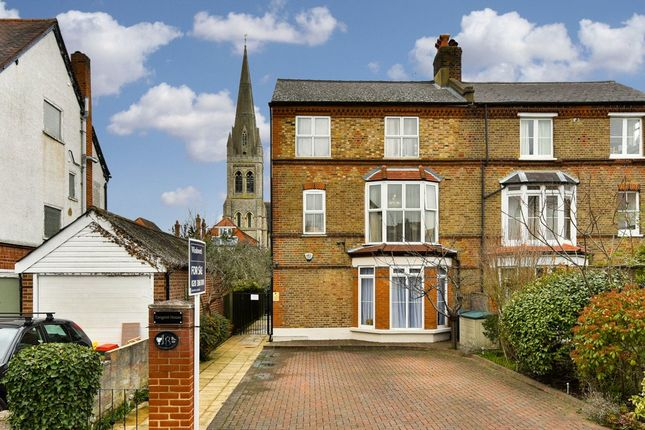 Thumbnail Semi-detached house for sale in Ditton Road, Surbiton