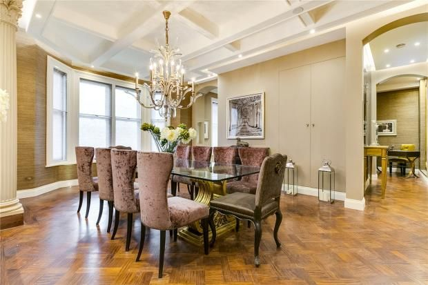 Dining Area of Park Mansions, Knightsbridge, London SW1X