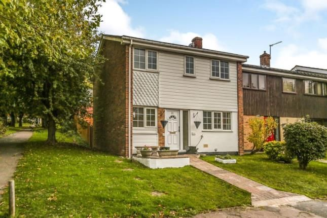 Thumbnail End terrace house for sale in Paddock Close, South Darenth, Dartford, Kent