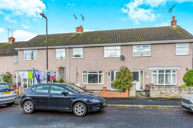 Thumbnail Terraced house to rent in Abbey Road, Rocester, Uttoxeter