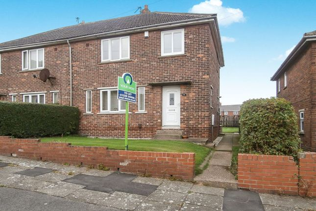 Thumbnail Semi-detached house to rent in Cedar Crescent, Kendray, Barnsley