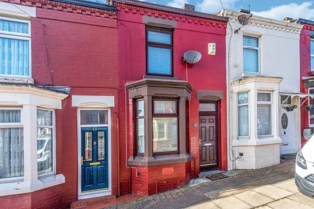 Front of Malwood Street, Liverpool, Merseyside L8