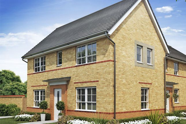 """Thumbnail Semi-detached house for sale in """"Ennerdale"""" at Tiber Road, North Hykeham, Lincoln"""