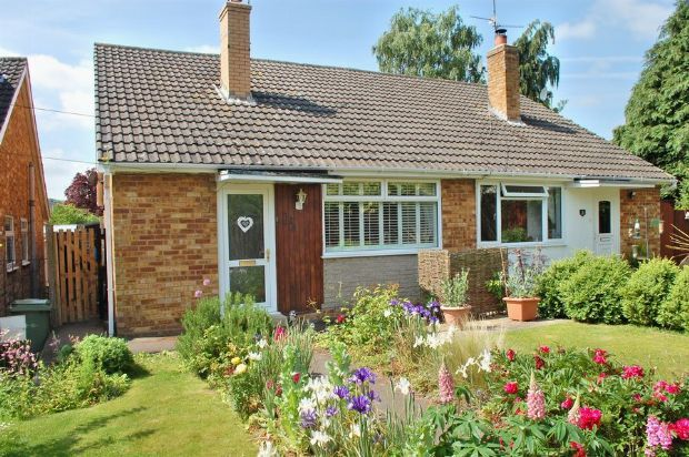 Thumbnail Semi-detached bungalow for sale in Close Road, Nether Heyford, Northampton