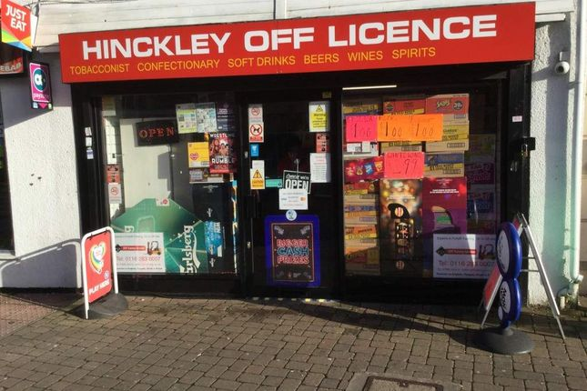 Thumbnail Retail premises for sale in The Borough, Hinckley