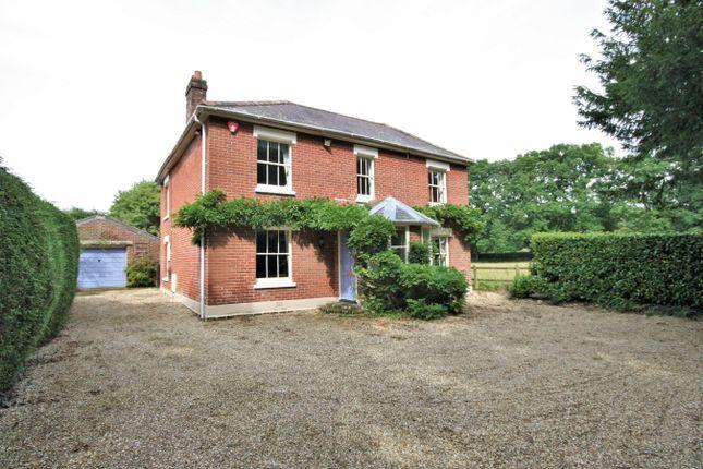 Thumbnail Detached house for sale in Burcombe Lane, Hangersley, Ringwood