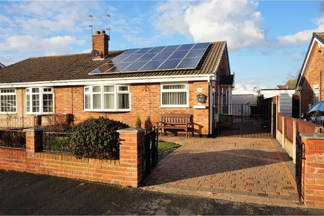 Thumbnail Semi-detached bungalow for sale in Moorfield Drive, Doncaster