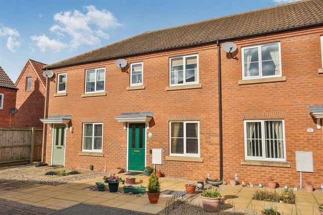 Thumbnail Terraced house to rent in Cygnet Road, Dereham