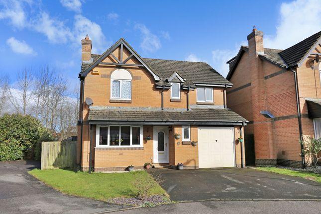 Thumbnail Detached house for sale in Upper Barn Copse, Fair Oak, Eastleigh
