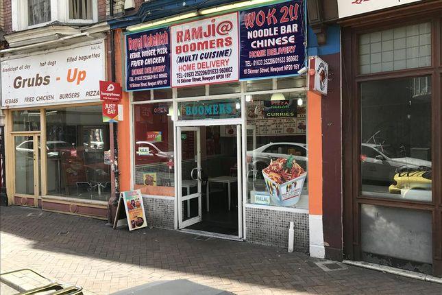 Thumbnail Leisure/hospitality for sale in Skinner Street, Newport