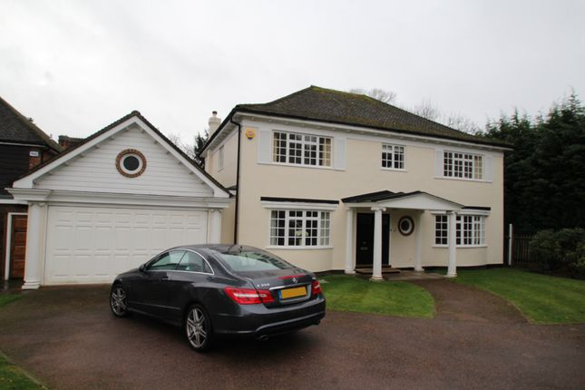 Thumbnail Detached house to rent in Prince Consort Drive, Chislehurst