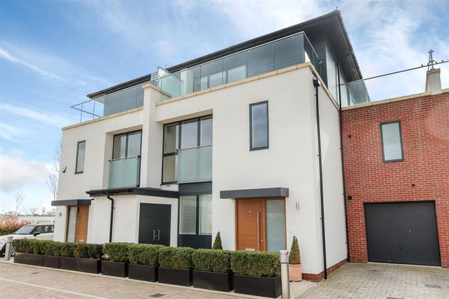 Thumbnail Semi-detached house for sale in Wessex Lane, Romford