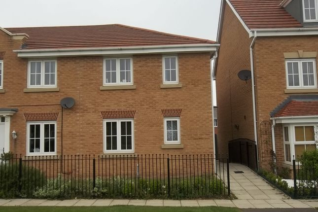 Thumbnail End terrace house to rent in Sunningdale Way, Gainsborough