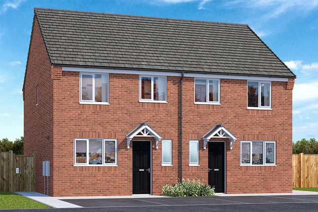 "Thumbnail 3 bedroom property for sale in ""The Caddington"" at Gibside, Chester Le Street"
