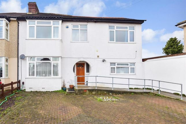 Thumbnail Semi-detached house for sale in Darwin Road, Welling, Kent