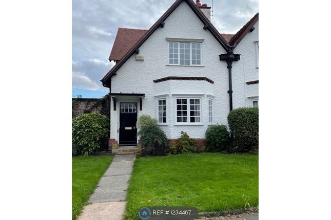 2 bed semi-detached house to rent in Windy Bank, Port Sunlight, Wirral CH62