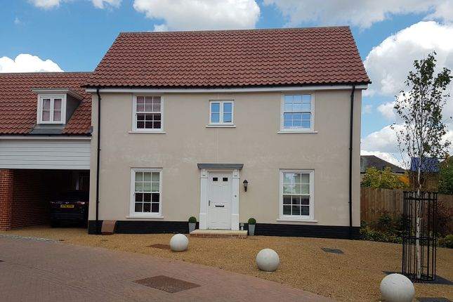 Thumbnail Link-detached house for sale in Griffiths Close, Ipswich, Suffolk