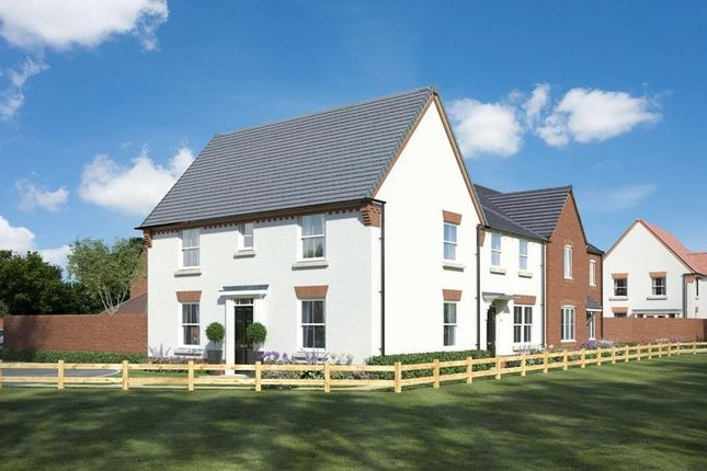 """Thumbnail End terrace house for sale in """"Hadley"""" at Birdhaven Close, Banbury Road, Lighthorne, Warwick"""