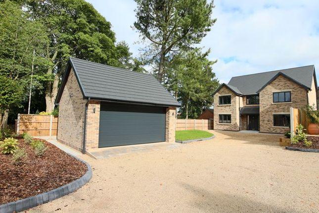 Thumbnail Detached house for sale in Aynsleys Drive, Blythe Bridge, Stoke-On-Trent