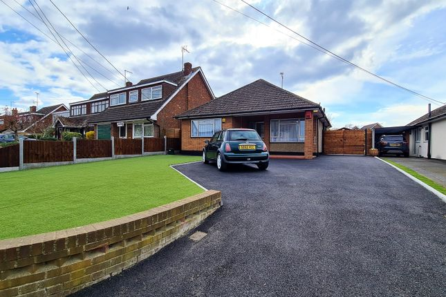3 bed bungalow to rent in Katina Gardiners Lane North, Crays Hill, Billericay CM11