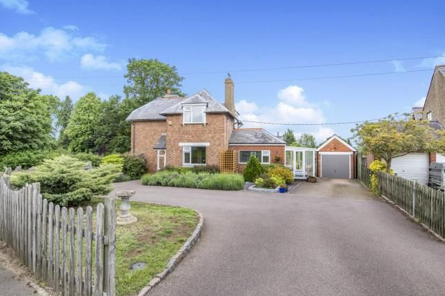 Thumbnail Detached house for sale in Uppingham Road, East Norton, Leicestershire