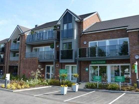 Thumbnail Flat for sale in Coronation Court, Ormskirk, Lancashire
