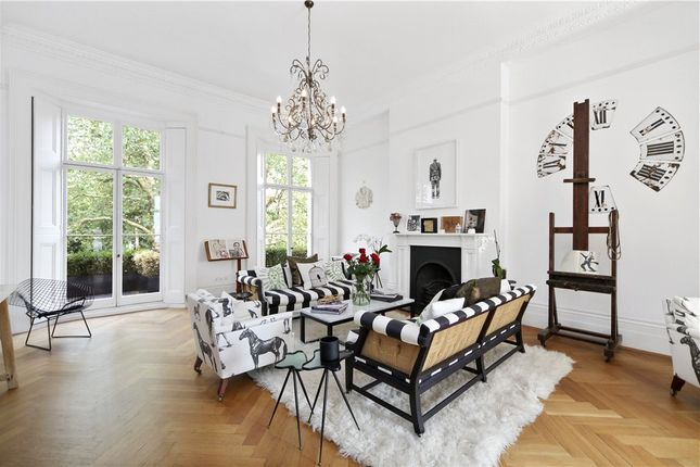Thumbnail Terraced house to rent in Thurloe Square, South Kensington, London