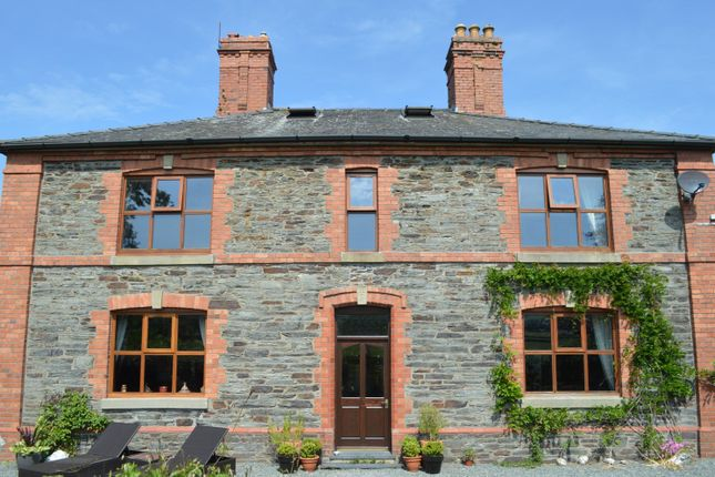 Thumbnail Detached house for sale in Bryncrug, Tywyn
