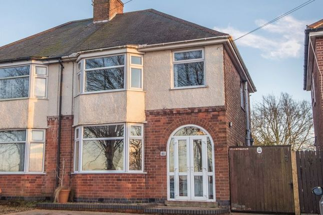 Thumbnail Semi-detached house for sale in Rugby Road, Clifton Upon Dunsmore, Rugby