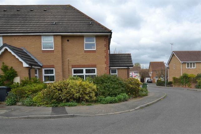 Terraced house to rent in Orthwaite, Stukeley Meadows, Huntingdon, Cambridgeshire