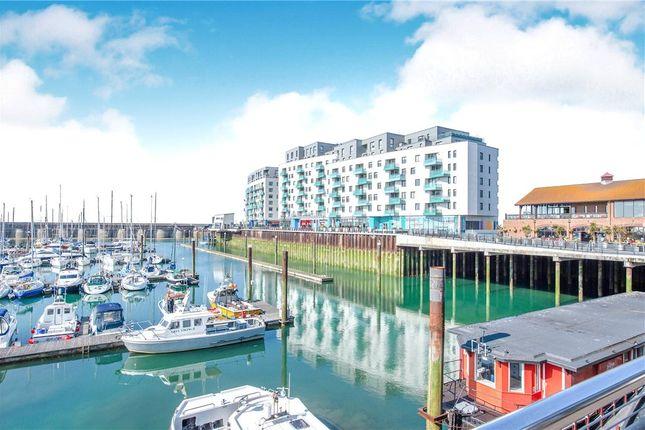 Thumbnail Flat for sale in The Boardwalk, Brighton Marina Village, Brighton