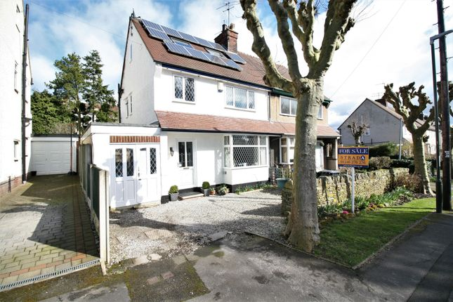 Thumbnail Semi-detached house for sale in Rhodes Avenue, Chesterfield