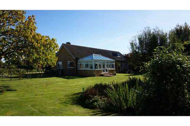 Thumbnail Detached bungalow for sale in Cross End, Halstead
