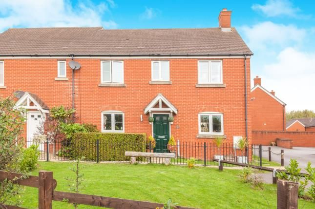 Thumbnail End terrace house for sale in West Wick, Weston Super Mare, Somerset