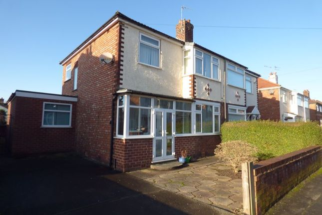 Thumbnail Semi-detached house for sale in Coniston Avenue, Penketh, Warrington