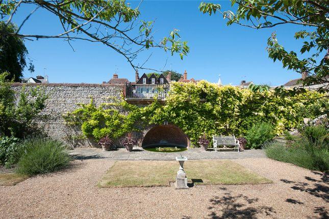 Communal Garden of The Hoo, Church Street, Willingdon, East Sussex BN20