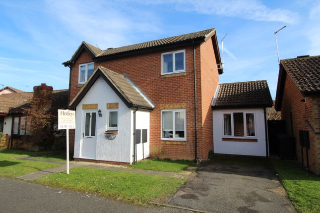 Thumbnail Detached house for sale in Heyford Court, Mildenhall, Bury St. Edmunds