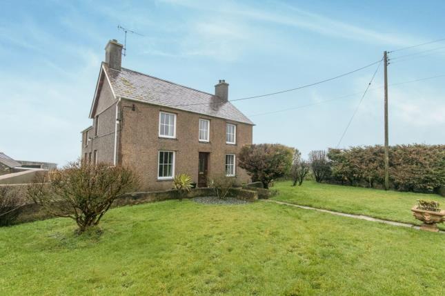 Thumbnail Detached house for sale in Llangwnadl, Gwynedd, .