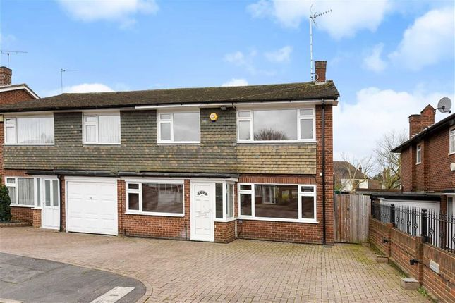 Thumbnail Semi-detached house for sale in Coppice Way, South Woodford, London