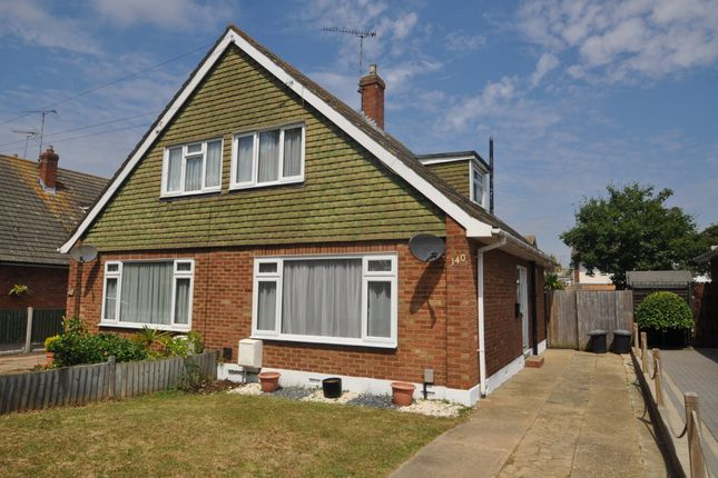 Thumbnail Semi-detached house for sale in Eversley Road, Benfleet